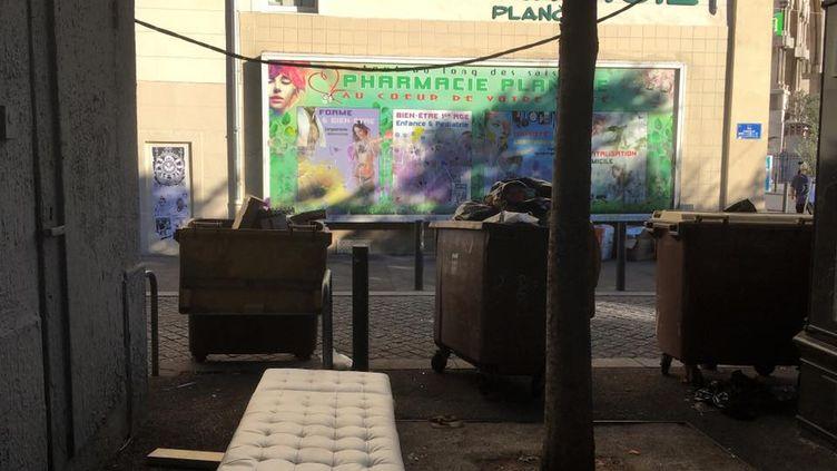L'endroit où a eu lieu l'agression sexuelle, dans le 1er arrondissement de Marseille, le 6 août 2017. (Sophia Hocini / Facebook)