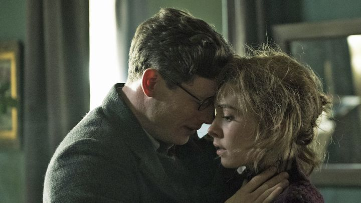 "James Norton et Vanessa Kirby dans ""L'Ombre de Staline"" de Agnieszka Holland. (Copyright Robert Palka / Condor Distribution)"