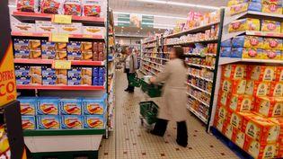 Dans un supermarché d'Agen (Lot-et-Garonne),le 18 juin 2010. (MAXPPP)