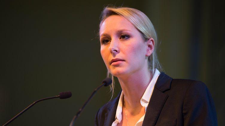 Marion Maréchal-Le Pen, le 21 novembre 2015 à Toulouse (Haute-Garonne). (PABLO TUPIN / CITIZENSIDE.COM / AFP)