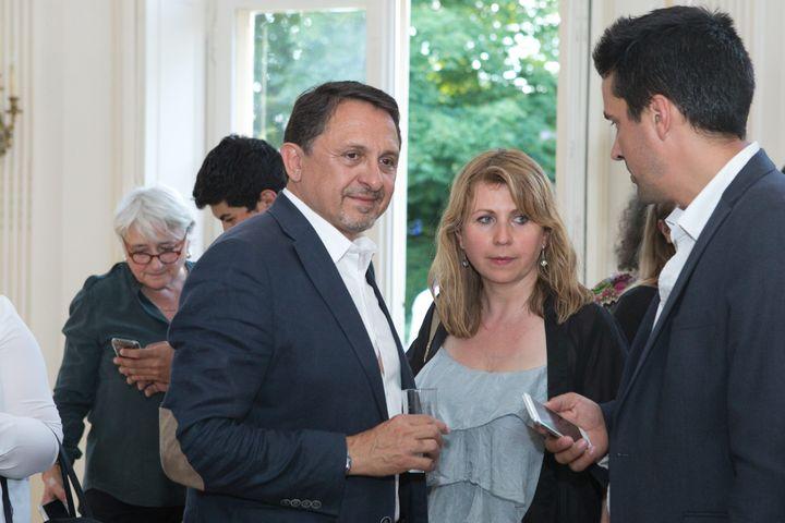 Le député Didier Martin, le 11 juin 2017 à Dijon (Côte d'Or). (MAXPPP)
