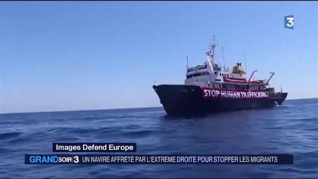 Un navire anti-migrants bloqué au large de la Tunisie