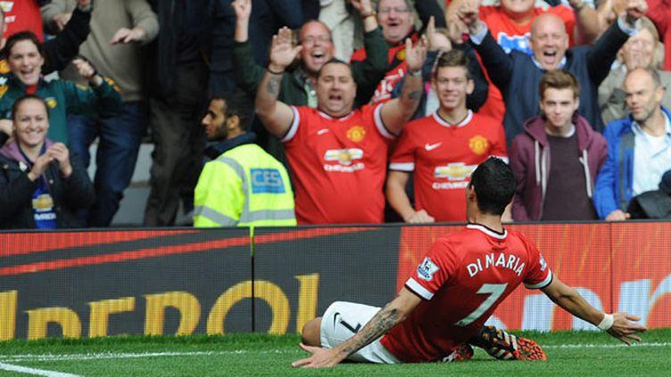 Angel Di Maria, le milieu de terrain de Manchester United