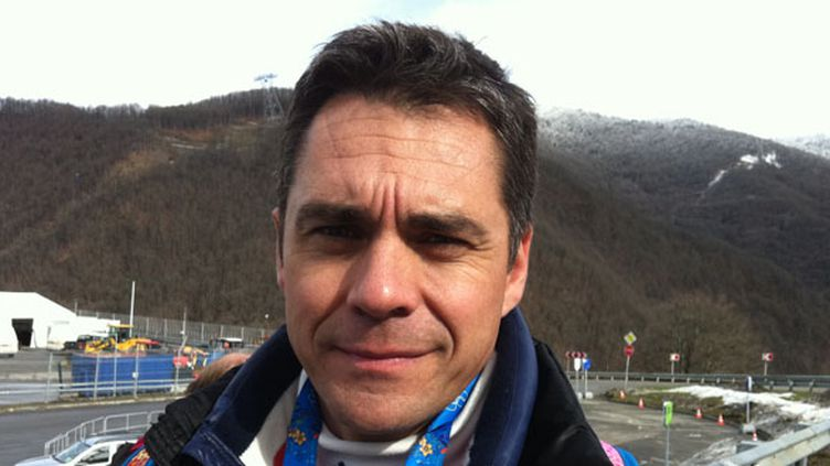 Bruno Thomas, consultant bobsleigh pour France Télévisions