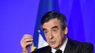 François Fillon, le 29 mars 2017, à Paris. (FRANCOIS PAULETTO / AFP)