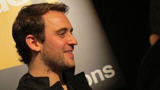 Joël Dicker au Salon du Livre de Paris, le 24 mars 2013  (Laurence Houot / Culturebox)