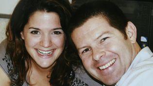 Les deux policiers tués à Magnanville dans les Yvelines en juin 2016 :Jean Baptiste Salvainget sa femme Jessica. (ALAIN ROBERT  / MAXPPP)