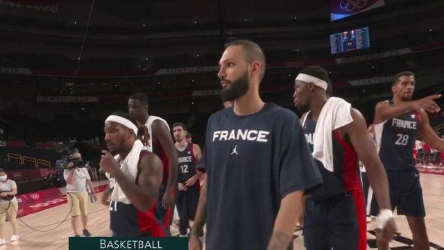 L'équipe de France de Basket masculine a remporté son match de poule contre la République tchèque et s'assure une qualification en quarts de finale ainsi que la première place de groupe.