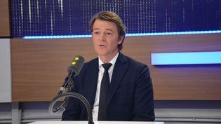 François Baroin,sénateur-maire LR de Troyes. (Jean-Christophe Bourdillat / Radio France)