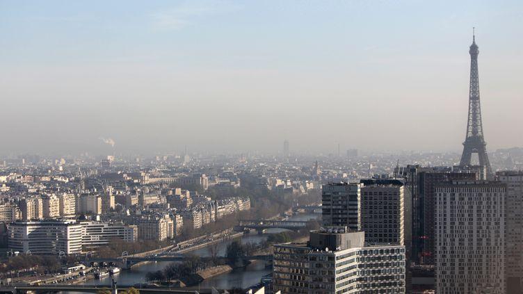 Une vue générale de Paris, le 26 mars 2012. (KENZO TRIBOUILLARD / AFP)