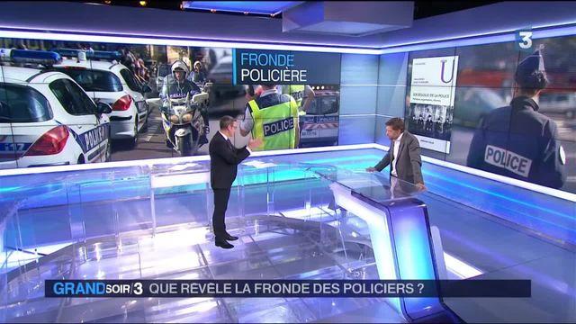 Que révèlent les manifestations de policiers ?