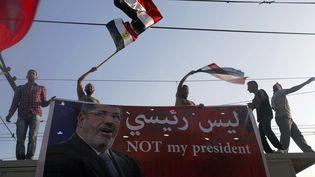 Des opposants au président égyptien Mohamed Morsi, au Caire (Egypte), le 30 juin 2013. (AMR DALSH / REUTERS )