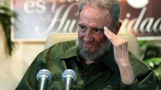 Fidel Castro, photographié en 2010. (SILVIO RODRIGUEZ / CUBADEBATE)
