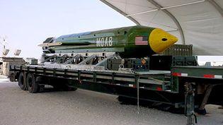 La bombe larguée est la plus puissante de l'arsenal conventionnel américain.  (REUTERS)