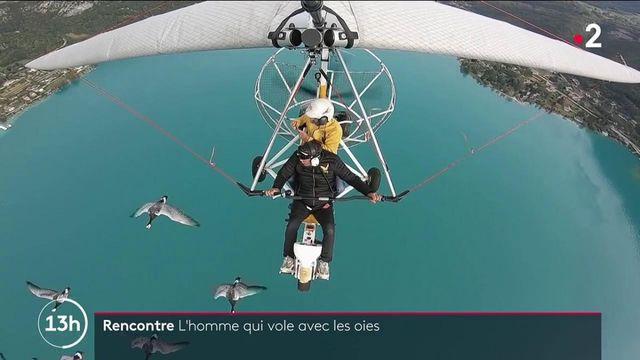 13H en France : envol dans une balade aérienne avec les oies