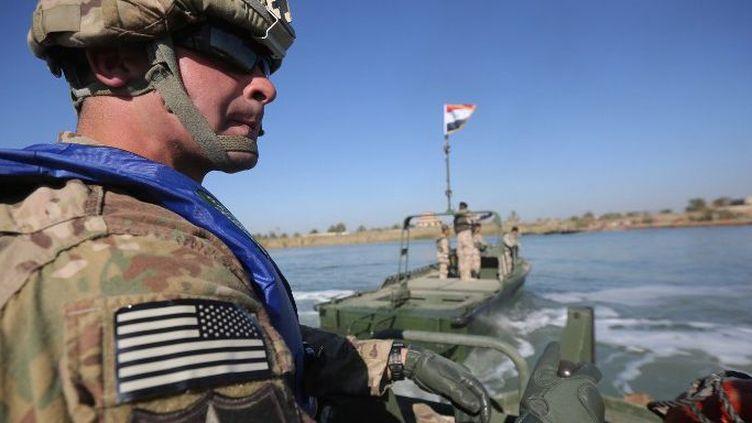 Décembre 2015, un soldat américain en Irak. (ALI MOHAMMED)