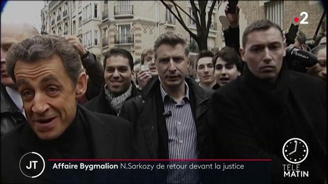 Affaire Bygmalion : Nicolas Sarkozy face aux juges