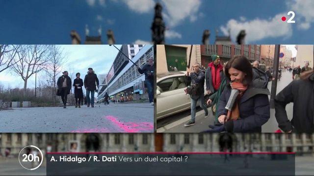 Municipales 2020 : Anne Hidalgo et Rachida Dati, un duel pour la mairie de Paris ?