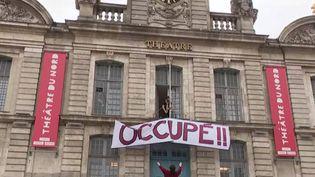 Covid-19 : les intermittents du spectacle occupent les théâtres (FRANCEINFO)