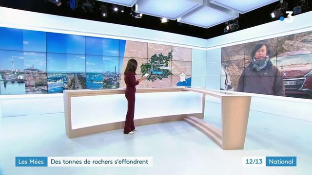 Alpes-de-Haute-Provence : aux Mées, des tonnes de roche s'effondrent