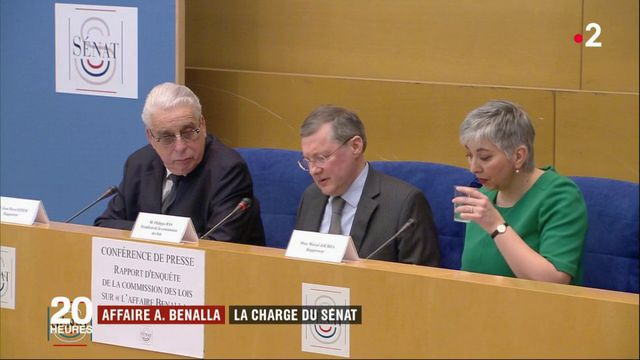 Alexandre Benalla : la charge du Sénat contre de hauts fonctionnaires de l'Élysée