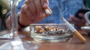 La France a connu un renversement de tendance spectaculaire dans le tabagisme, dû notamment à l'augmentation des prix, selon le gouvernement, mais aussi à la cigarette électronique (Image d'illustration). (JOE KLAMAR / AFP)