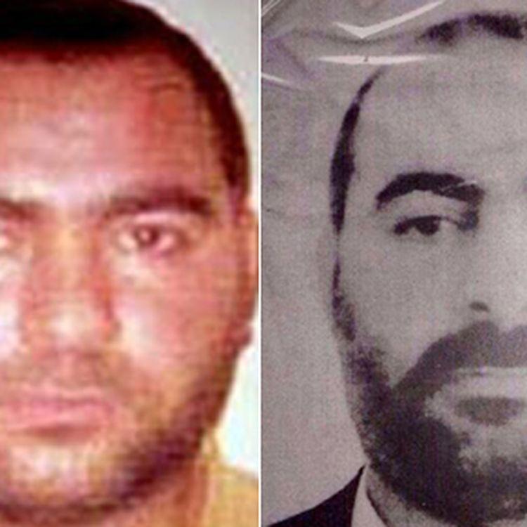 Les deux seules photos authentifiées d'Abou Bakr Al-Baghdadi, détenues parles services de sécurité américains et irakiens. (US DEPARTMENT OF STATE'S BUREAU OF DIPLOMATIC SECURITY AND IRAQI MINISTRY OF INTERIOR / AFP)
