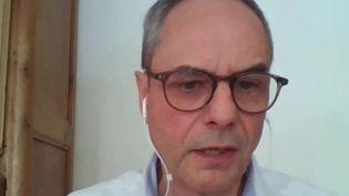 Le docteur Pascal Chansard, vice-président de SOS Médecins France, était l'invité du journal de 13 heures de France 2. (FRANCE 2)