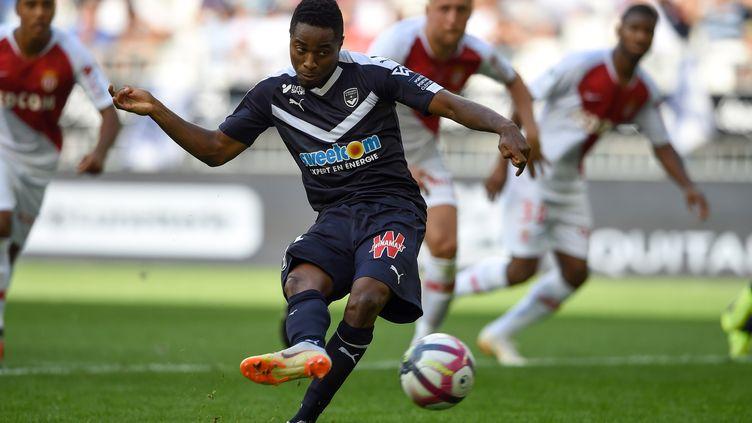 François Kamano (Girondins de Bordeaux) a inscrit un doublé contre Monaco (NICOLAS TUCAT / AFP)