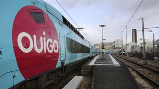 Le Ouigo, le TGV low-cost de la SNCF. (JACQUES DEMARTHON / AFP)