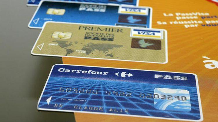 (Cartes Pass Carrefour © MaxPPP)