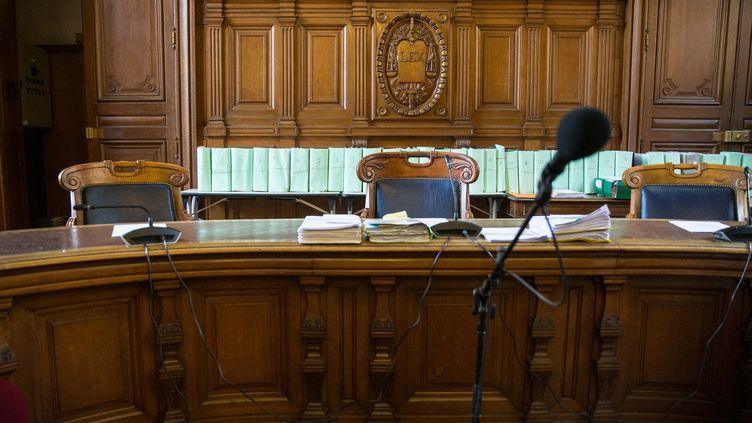Palais de justice, illustration. (NICOLAS KOVARIK / MAXPPP)