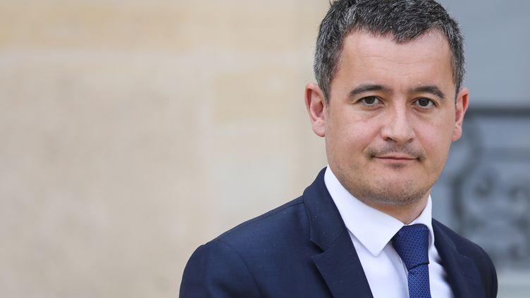 Le ministre des Comptes publics, Gérald Darmanin, à l'Elysée, le 20 mars 2019. (LUDOVIC MARIN / AFP)