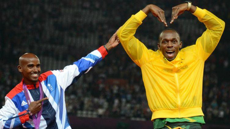 Mo Farah et Usain Bolt ont été deux protagonistes importants des Mondiaux de Daegu