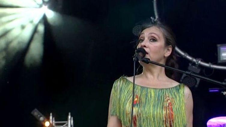 Catherine Ringer au festival Lez'Arts Scèniques 2012  (France 3 / Culturebox)