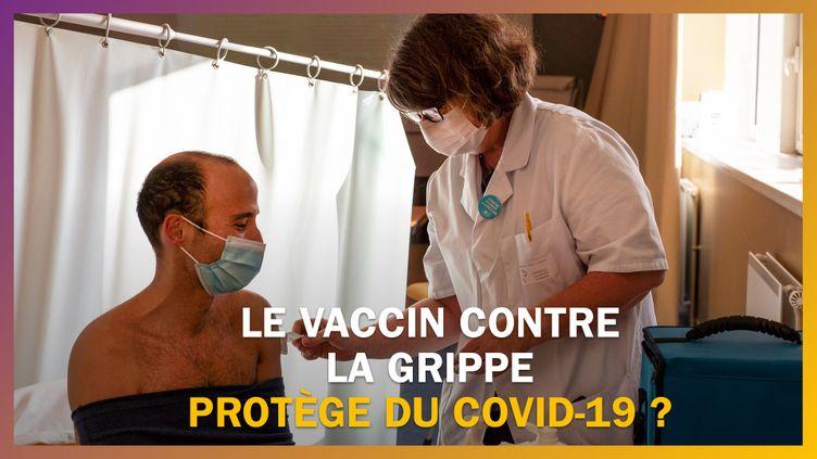 La vaccin contre la grippe protège-t-il du Covid-19 ? (FRANCE CULTURE / FRANCEINFO)