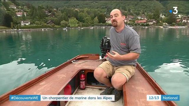 Lac d'Annecy : à la découverte du métier de charpentier de marine