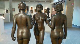 """""""Les Nymphes de la Prairie"""" d'Aristide Maillol (F. Tabuteau / France 3)"""