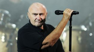 Phil Collins à New York Flushing Meadows le 19 août 2016.  (Backpage Images Ltd / DPPI/ AFP)