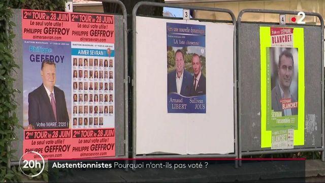Abstentionnistes : pourquoi n'ont-ils pas voté ?