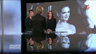 """Affaire Weinstein : Asia Argento interpelle Marlène Schiappa sur le plateau d'""""Envoyé spécial"""" (FRANCE 2 / FRANCETV INFO)"""