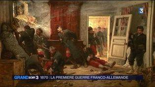 Un tableau sur la guerre de 1870 exposé au musée de l'Armée (France 3)