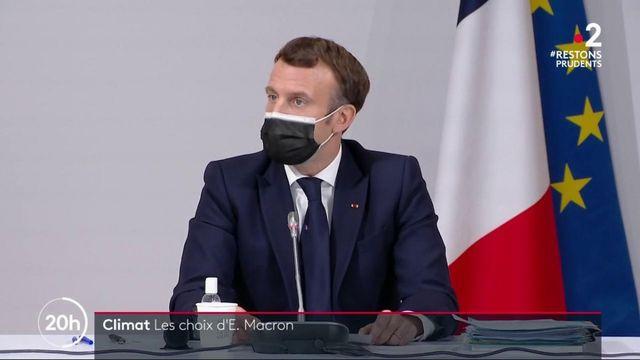 Climat : Emmanuel Macron a rencontré les membres de la Convention citoyenne pour le climat