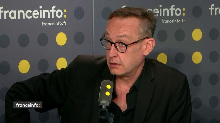 Stéphane Zumsteeg, directeur du département politique-opinions de l'institut de sondage Ipsos, invité de franceinfo lundi 27 mai. (FRANCEINFO / RADIO FRANCE)