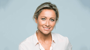 Anne-Sophie Lapix (DELPHINE GHOSAROSSIAN / FRANCE 2)
