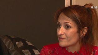 Nathalie Haddadi est accusée d'avoir envoyé de l'argent à son fils, un jihadiste présumé mort en Syrie. (FRANCE 3)