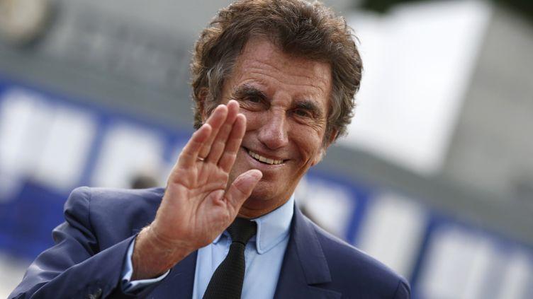 Jack Lang arrive à une exposition à l'Institut du monde arabe, le 26 juin 2014, à Paris. (KENZO TRIBOUILLARD / AFP)