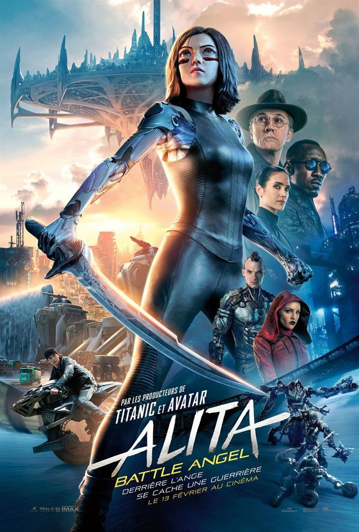 """Alita - Battle Angel"" : l'affiche  ( Twentieth Century Fox France )"