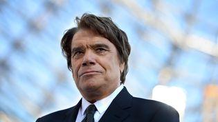 Bernard Tapie, à Marseille (Bouches-du-Rhône), le 21 décembre 2013. (GERARD JULIEN / AFP)