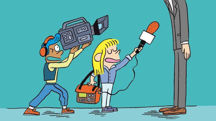 """(On parle journalisme dans """"Salut l'info !"""" (RADIO FRANCE))"""